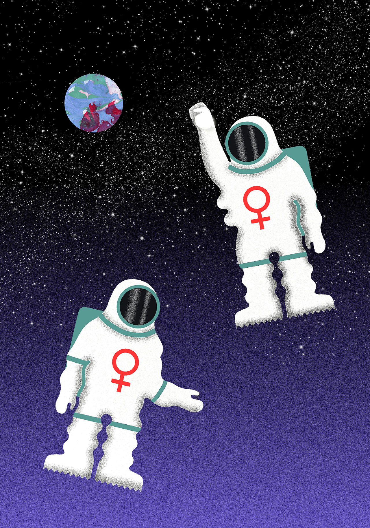 first all female spacewalk